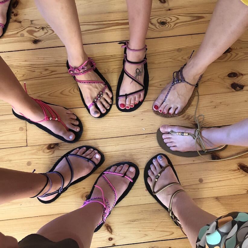 Začínáme s barefoot sandály